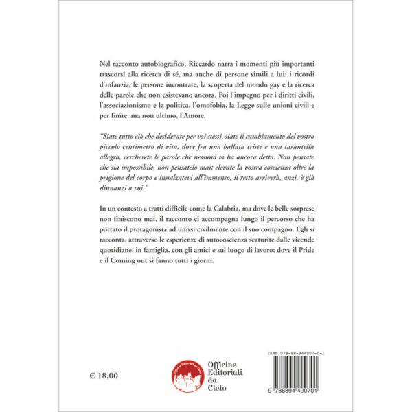 La quarta di copertina del libro Vi dichiaro uniti