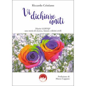 La copertina del libro Vi dichiaro uniti di Riccardo Cristiano