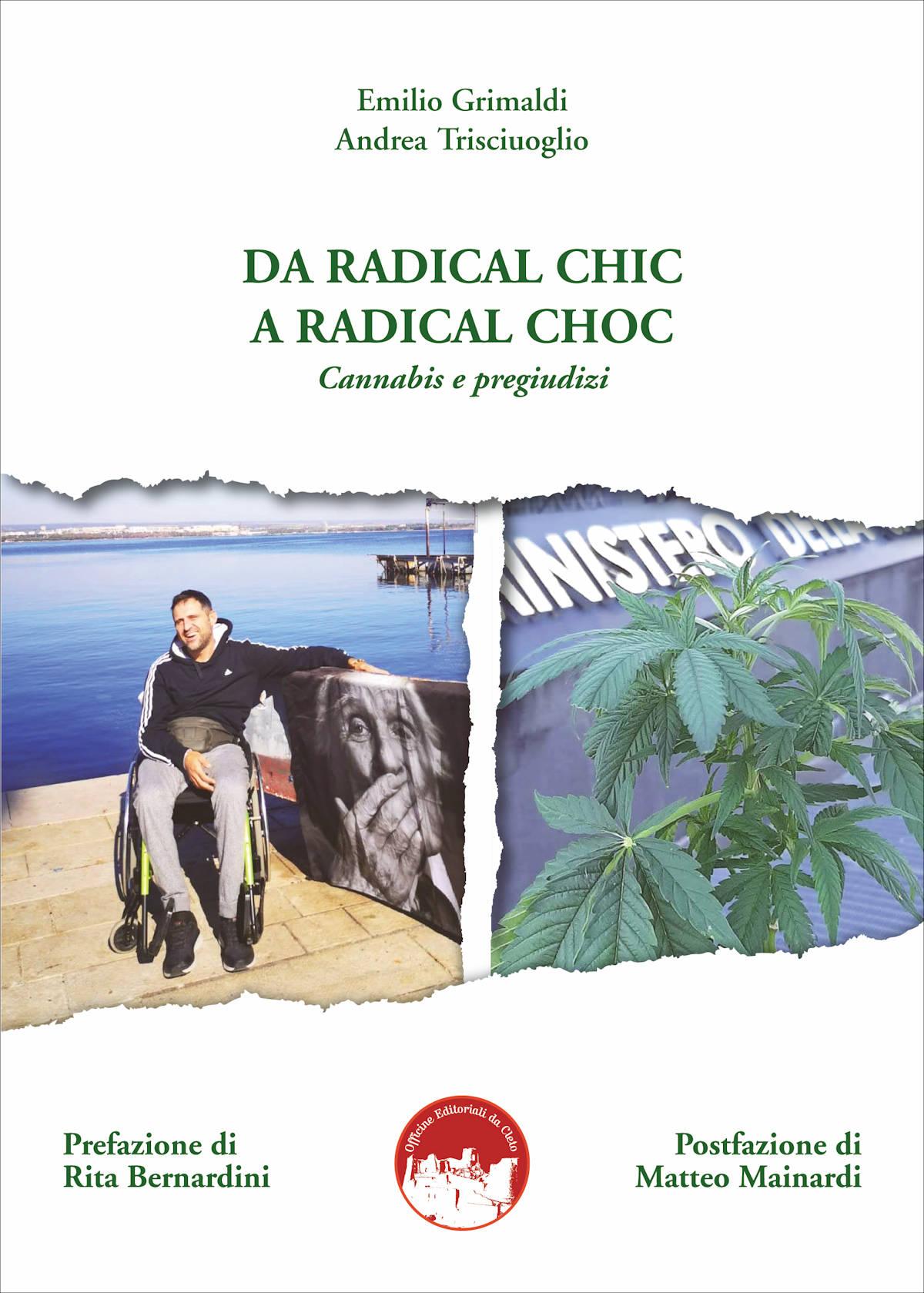 La copertina del libro Da radical chic a radical choc di Emilio Grimaldi ed Andrea Trisciuoglio