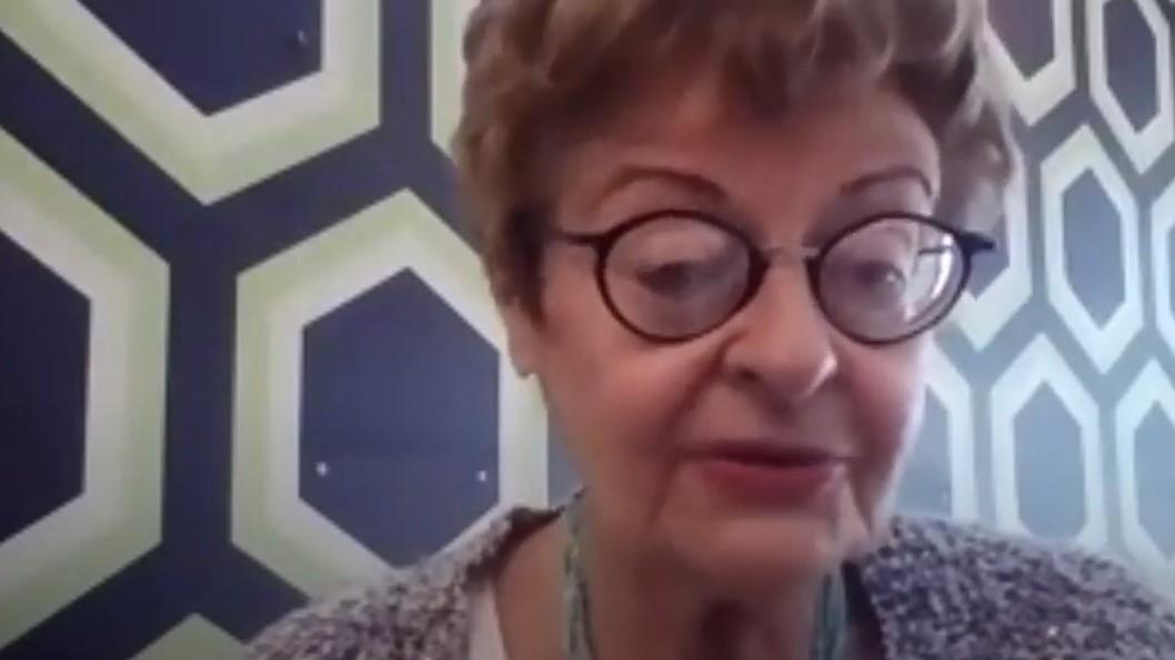 """Rosalia Grande, Autrice del libro """"A spasso con l'Angelo""""."""