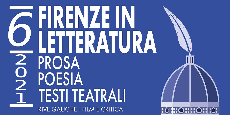 Il logo della 6a edizione di Firenze in letteratura